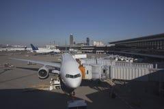 Narita-Flughafen in Japan stockbild