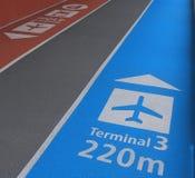 Narita-Flughafen Tokyo Japan Stockbilder