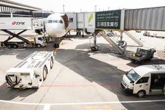 Narita flygplats i Japan Royaltyfri Bild