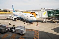 Narita flygplats i Japan Fotografering för Bildbyråer