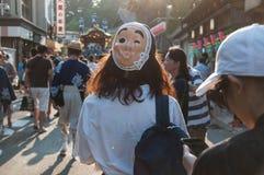 Narita Gion Festival 2017 Lizenzfreies Stockfoto
