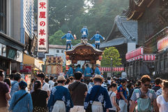 Narita Gion Festival 2017 Stockfotos