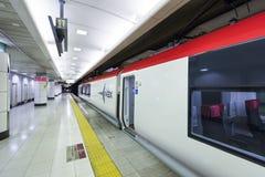 Narita, Japan - September 30, 2016: Narita Express at Narita International Airport Royalty Free Stock Image