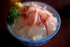 Narita kall karpSashimi Fotografering för Bildbyråer