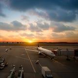 Narita lotnisko międzynarodowe Obrazy Royalty Free