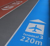 Narita Lotniskowy Tokio Japonia Obrazy Stock