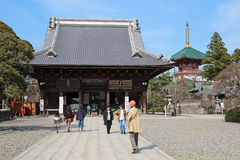 Narita-san ShinshÅ  - ji Arkivfoto
