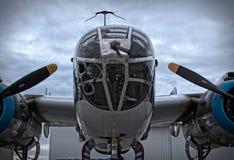 Nariz de Mitchell B-25 Imagem de Stock