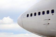 Nariz del aeroplano foto de archivo libre de regalías
