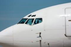 Nariz del aeroplano Fotografía de archivo libre de regalías