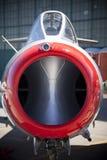 Nariz del avión de combate de la vendimia Imágenes de archivo libres de regalías
