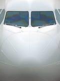Nariz do avião de passageiros Fotos de Stock Royalty Free