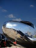 Nariz plano do vintage no airshow foto de stock