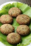 Narkel Posto Bora - A Bengali dish Royalty Free Stock Image
