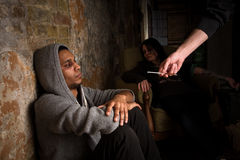 Narkotyki i leka pojęcie zdjęcia royalty free