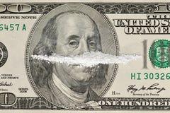 narkotyzuje pieniądze Obrazy Stock
