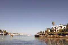 Narlikuyu Cove, Mersin, Turkiet Arkivfoto
