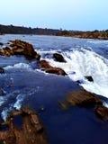 Narmada河瀑布,贾巴尔普尔印度 免版税图库摄影