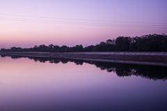Narmada canal Stock Images