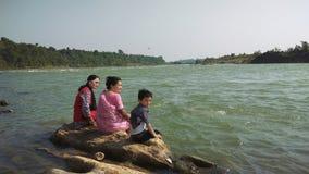 Narmada del río en Jabalpur Imagen de archivo