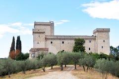 Narni, Ιταλία Φρούριο Albornoz Narni Ουμβρία r στοκ φωτογραφίες με δικαίωμα ελεύθερης χρήσης