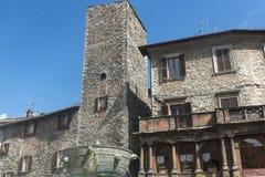Narni (Ουμβρία, Ιταλία) Στοκ φωτογραφία με δικαίωμα ελεύθερης χρήσης