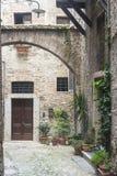 Narni (Ουμβρία, Ιταλία) Στοκ φωτογραφίες με δικαίωμα ελεύθερης χρήσης