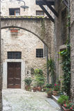 Narni (Умбрия, Италия) Стоковые Фотографии RF