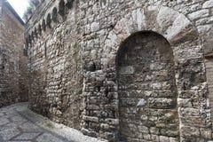 Narni (Умбрия, Италия) Стоковое Изображение