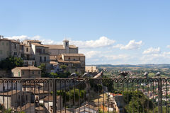 Narni (Terni, Ombrie, Italie) - panorama Photo stock