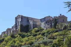 Narni, uma vila medieval antiga em Úmbria, Itália Fotografia de Stock Royalty Free