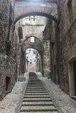 Narni (Umbría, Italia) Foto de archivo libre de regalías