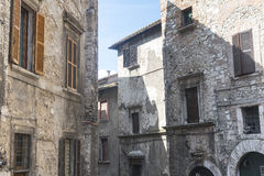 Narni (Umbrië, Italië) Stock Afbeeldingen