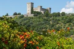 Narni (Umbrië, Italië) Royalty-vrije Stock Afbeeldingen