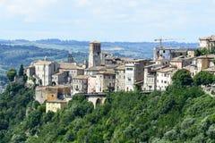 Narni (Umbrië, Italië) Royalty-vrije Stock Afbeelding