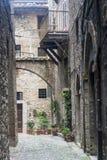 Narni (Umbrië, Italië) Royalty-vrije Stock Foto