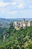 Narni (Umbria, Italien) Fotografering för Bildbyråer