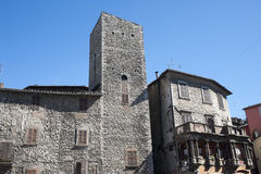 Narni (Umbria, Italy) - Old buildings Stock Images