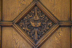 Narnia Door in Oxford Royalty Free Stock Photo