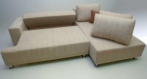 narożnikowa nowożytna kanapa Zdjęcia Royalty Free
