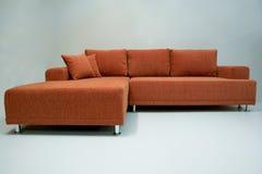 narożnikowa nowożytna kanapa zdjęcie royalty free