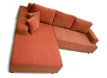 narożnikowa nowożytna kanapa zdjęcia stock