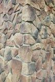 Narożnikowa struktura dom Tekstura - sztuczny dekoracyjnego kamienia façade siwieje kolor kamiennej ściany tła szorstką teksturę Zdjęcie Royalty Free