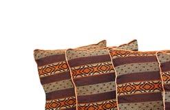 narożnikowe poduszki Fotografia Stock