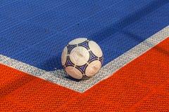 Narożnikowy kopnięcie na futsal polu Fotografia Royalty Free