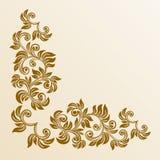 narożnikowy kwiecisty Zdjęcie Royalty Free