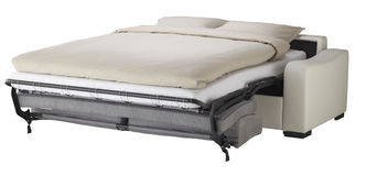 Narożnikowy leżanki łóżko Fotografia Stock