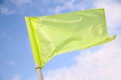 narożnikowa flaga Obrazy Stock