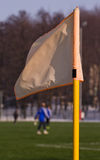 narożnikowa flaga Fotografia Stock