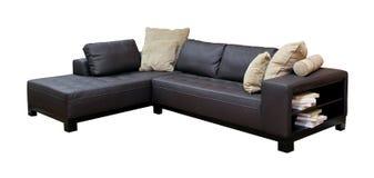 Narożnikowa kanapa Fotografia Stock